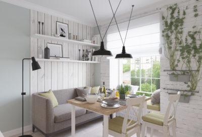 кухня в скандинавской стиле, скандинавский интерьер, k-studio