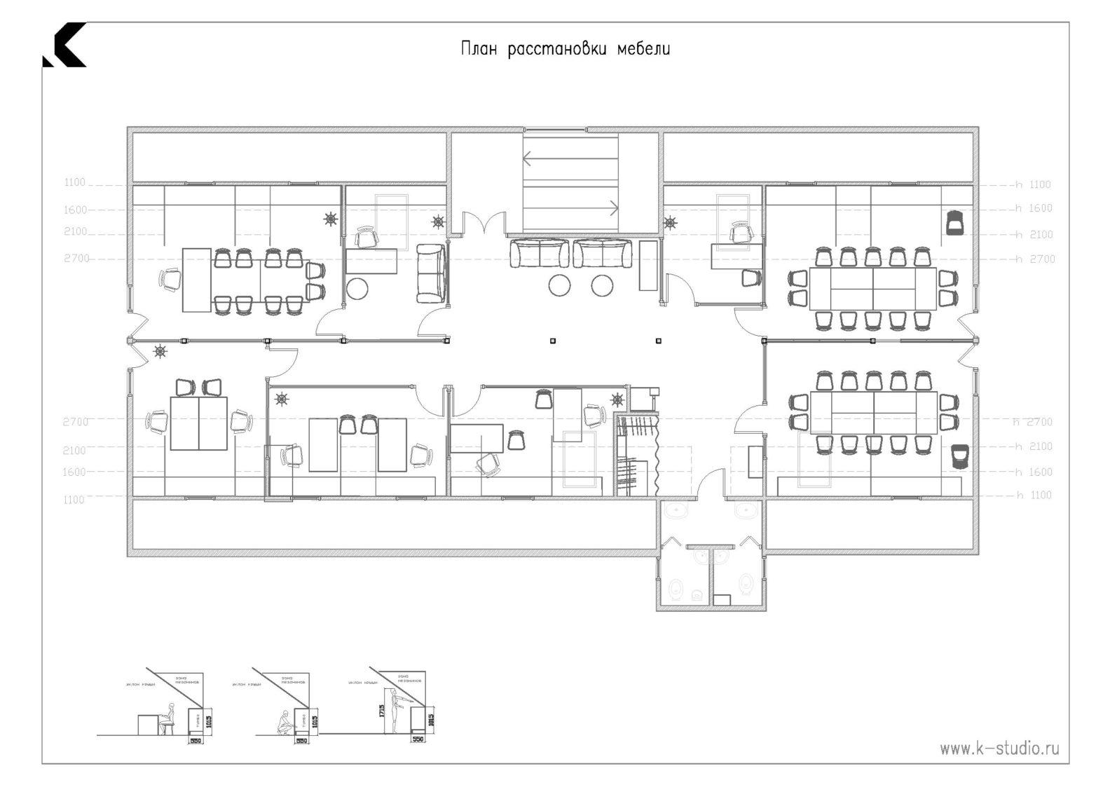 план офиса, планировка офиса