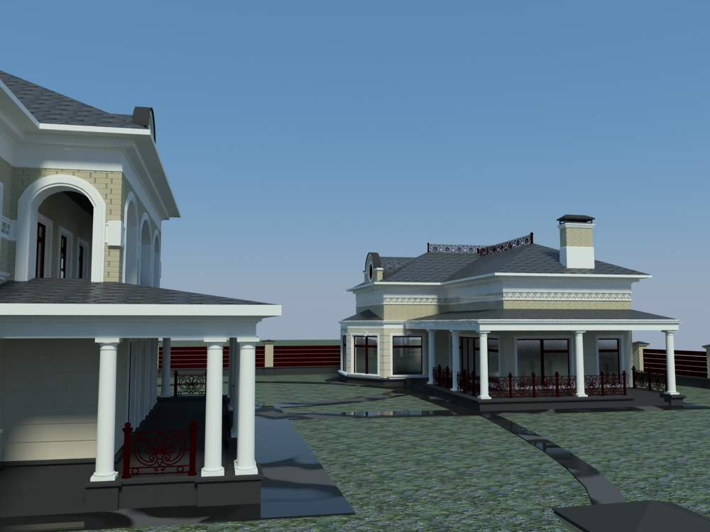 проект размещения дома на участке