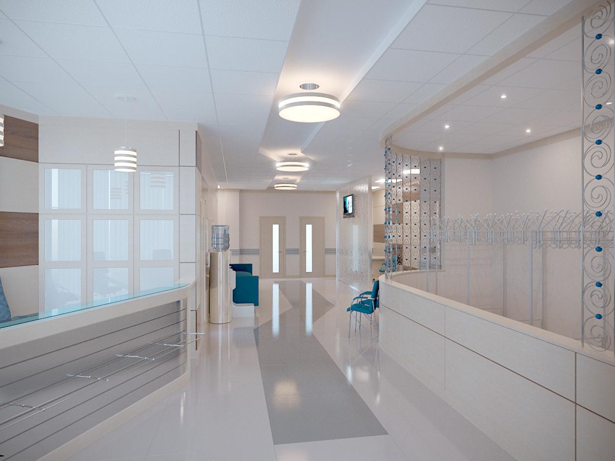 дизайн медицинского центра