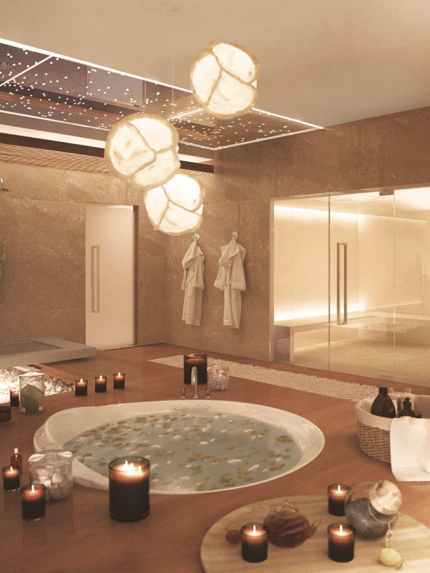 спа, круглая ванна, k-studio