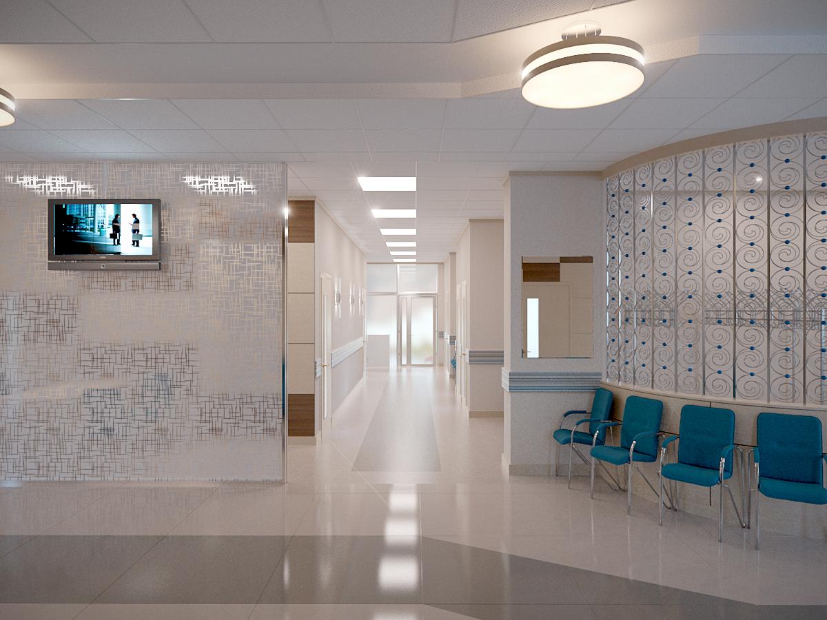 дизайн больницы