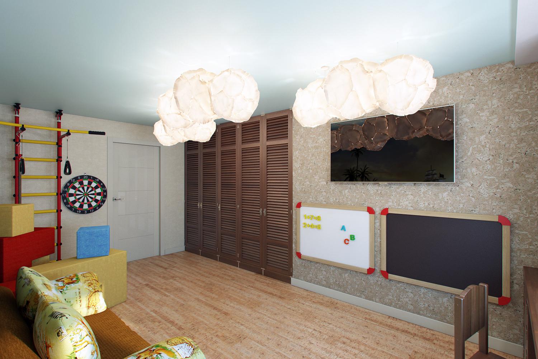 игровая комната, пробка в детской