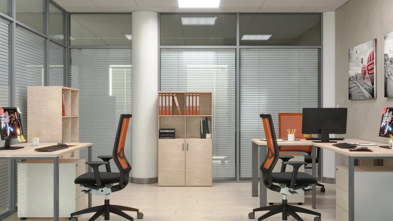 проект кабинета в офисе