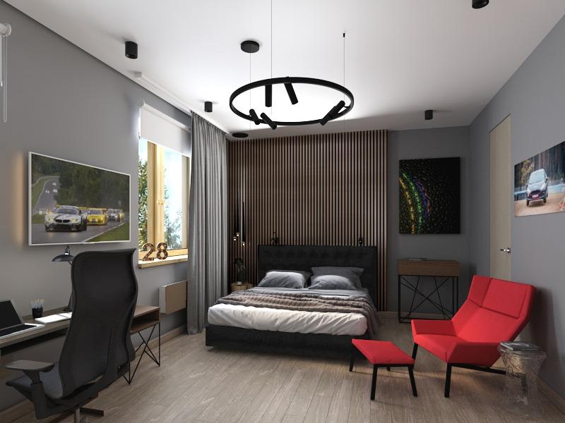спальня студента